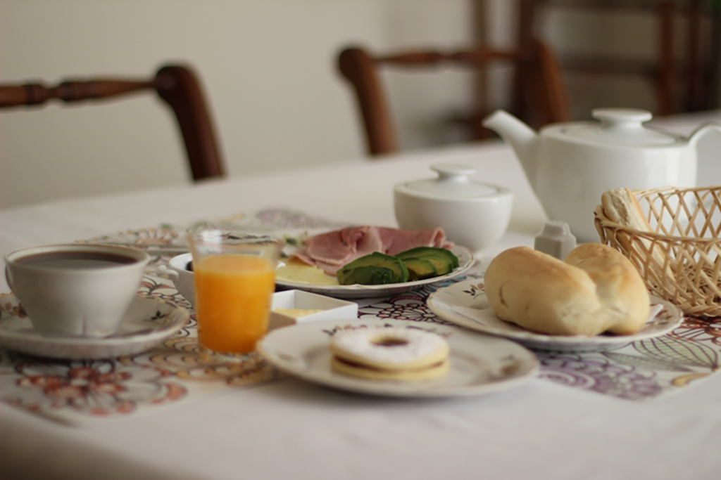 Carino Porteno breakfast