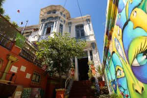 Where to stay in Valparaiso: Nómada Eco-Hostel